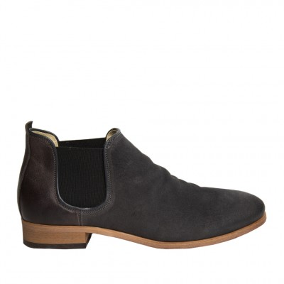 Shoe The Bear Men's Who Chelsea Boot in Dark Grey
