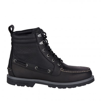 Sperry Men's AO Lug Weatherproof Boot in Black
