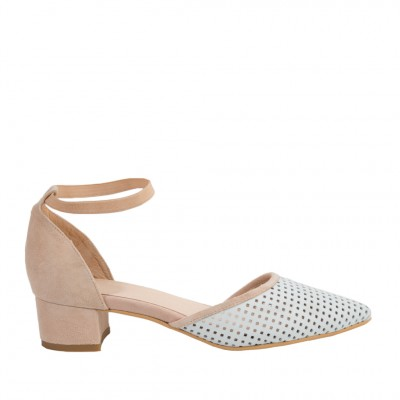 Shoe The Bear Women's Simone Sandal in Nude