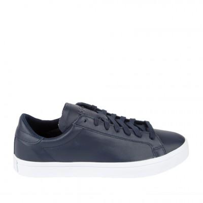 Men's Adidas Court Vantage Sneaker in Collegiate Navy