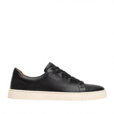 Frye Women's Ivy Low Lace Sneaker in Black
