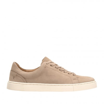 Frye Women's Ivy Low Lace Sneaker in Taupe