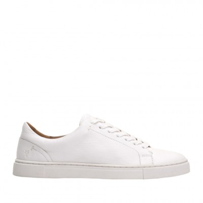Frye Women's Ivy Low Lace Sneaker in White
