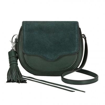 Rebecca Minkoff Mini Suki Cross-Body Bag in Evergreen