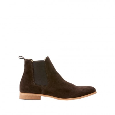 Men's Shoe The Bear Chelsea S Boot in Dark Brown
