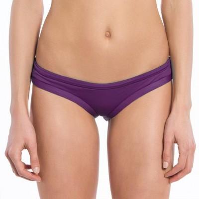 Solid Purple Collection Straight Lift Bikini Bottoms
