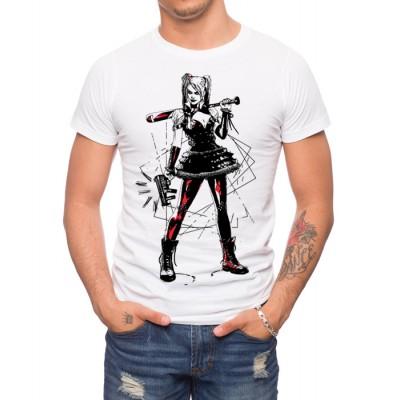 Arkham Knight Harley Plays Rough T-Shirt