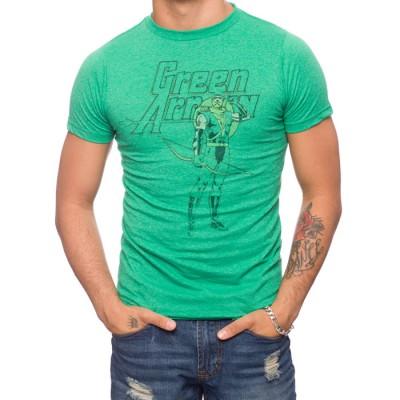 Green Arrow Retro Pose T-Shirt