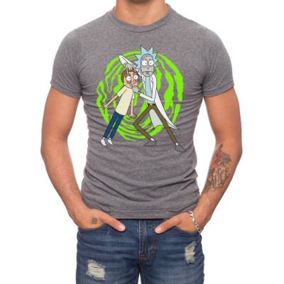 Rick And Morty Spiral T-Shirt