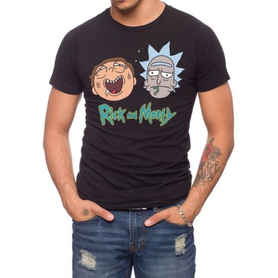 Rick And Morty Heads T-Shirt