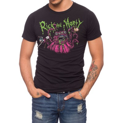 Rick And Morty Monster T-Shirt
