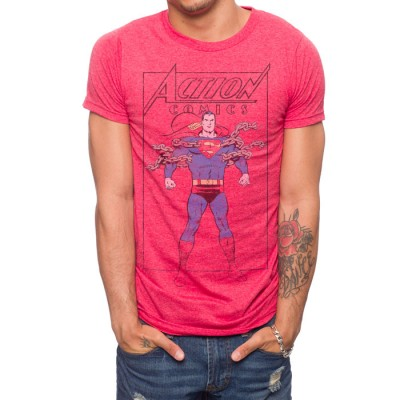 Superman Action Comics Chains T-Shirt