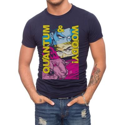 Quantum & Woody Colorblock T-Shirt