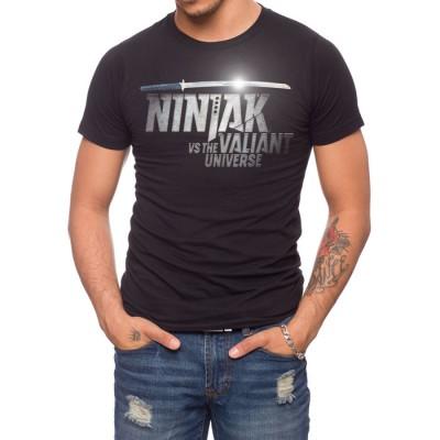 Ninjak Vs The Valiant Universe Sword T-Shirt