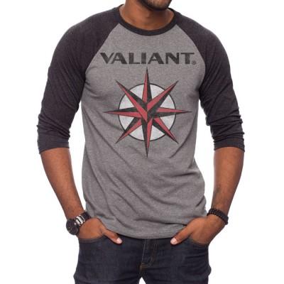 Valiant Classic Logo Triblend Raglan