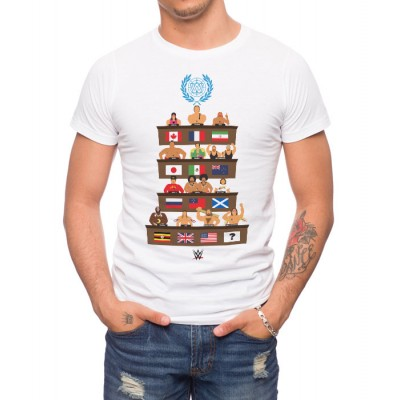 Wwe United Nations T-Shirt
