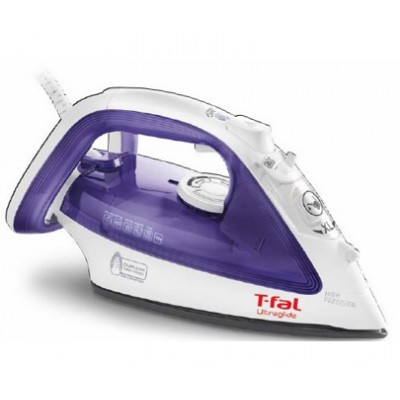 T-Fal OptiGlide Prima 58 -1400 W FV3758 Steam Iron ( Manufacturer Refurbished) 1 Year Direct Warranty