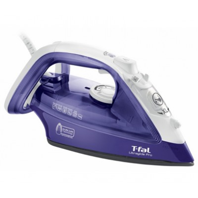 T-Fal UltraiGlide Pro -1700 W FV4026Q0 Steam Iron ( Manufacturer Refurbished) 1 Year Direct Warranty