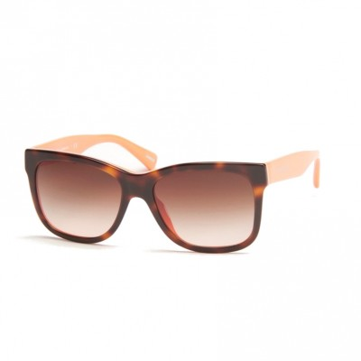 Dolce & Gabbana UniSex Havana Brown And Orange Sunglasses With Brown Gradient Lens ODG 4158 2707 13