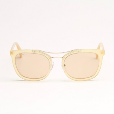 Yellow Sunglasses With Light Grey Lens