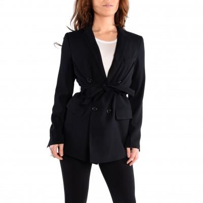Long Sleeve Belted Blazer