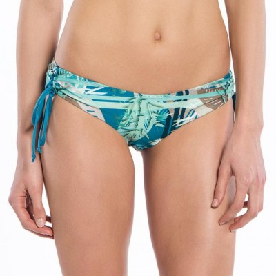 Bamboo Collection String Ruched Bikini Bottoms