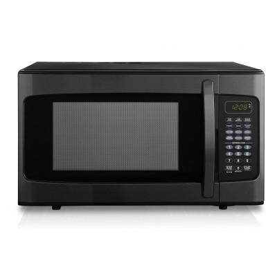 Danby 1.1 cu. ft. Microwave, Black Stainless Steel