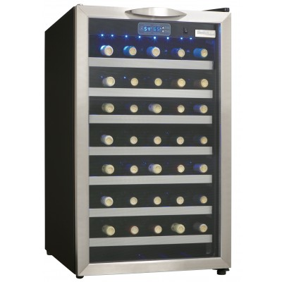 Danby 45 Bottle Wine Cooler, Stainless Steel