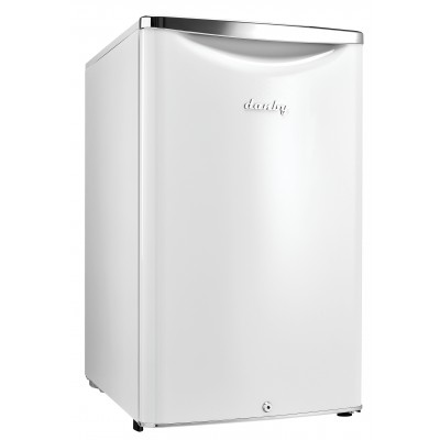 Danby 4.4 cu.ft. Fridge, Pearl Metallic White