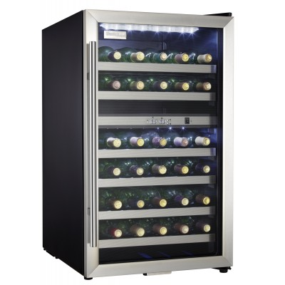 Danby 38 Bottle Wine Cooler, Stainless Steel