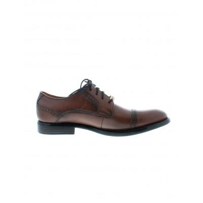 Dockers Men's Hawley Dress Shoe in Dark Tan