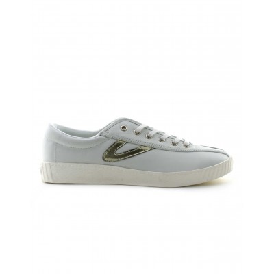 Tretorn Women's Nylite 2 Shoe in White and Gold