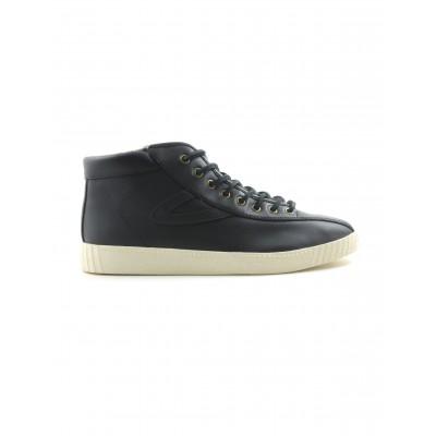 Tretorn Men's Nylite Hi Shoe in Black