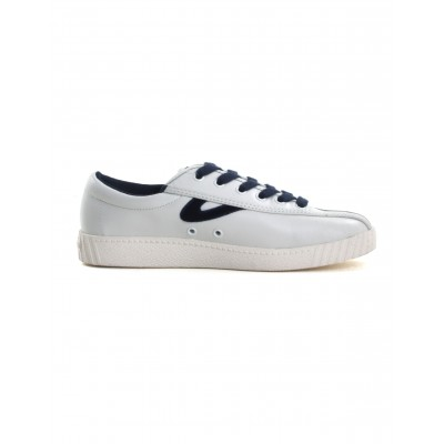 Tretorn Women's Nylite Shoe in White and Blue