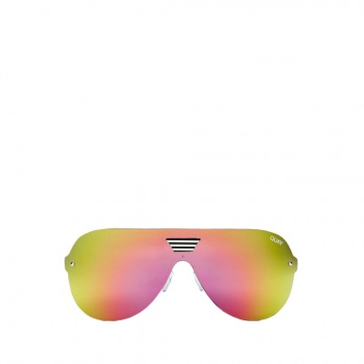 Quay Showtime Sunglasses in Black and Pink