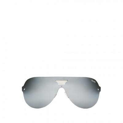 Quay Showtime Sunglasses in Silver
