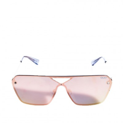Quay Star Gaze Sunglasses in Gold and Pink