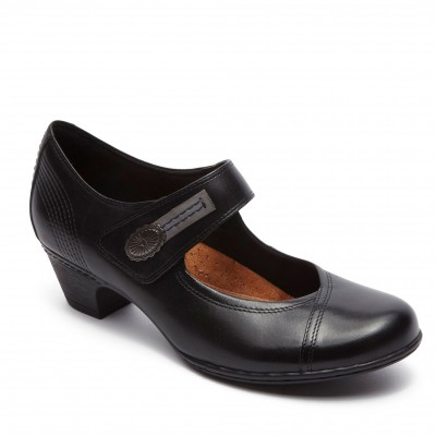Rockport Women's Cobb Hill Abigail Mary Jane blk