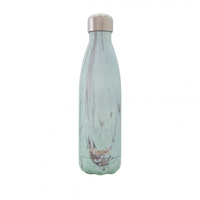 S'well Wood Water Bottle in Beach Cottage
