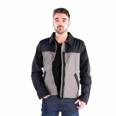 Pajar Max Lightweight Jacket In Black And Charcoal