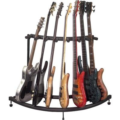 Stand Guitar RockStand for 7 - Corner Flat Pack - Black - RockStand - RS 20887 B/1 FP