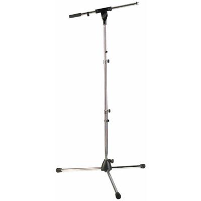 "Stand Mic RockStand 45-125cm/17.7-49.2"" - Nickel - RockStand - RS 20781 NK"