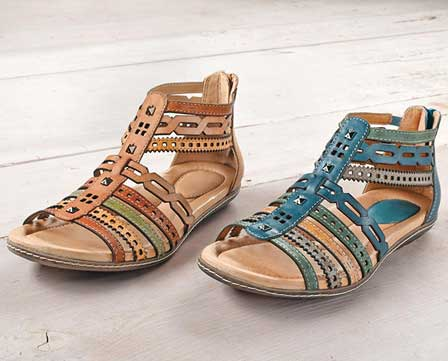 Women's Earth 'Bay' flat sandals